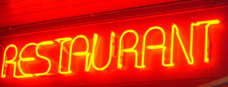 Enseigne lumineuse : neons