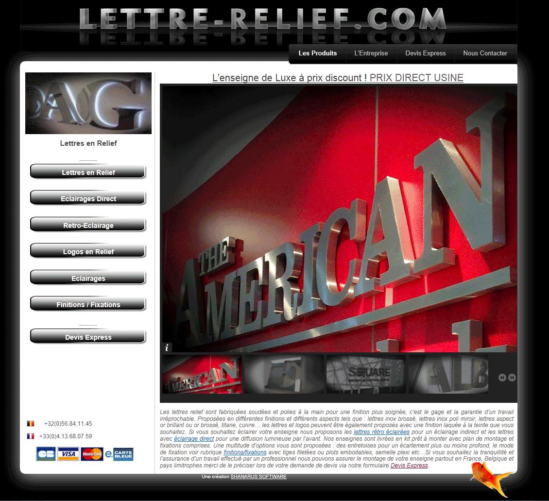 Logo Lettre-Relief.com