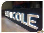 Lettre Relief PVC 30 mm