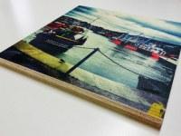 Panneau bois imprimé