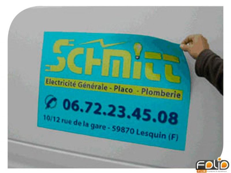 4 Plaques Magnétiques 40*60cm